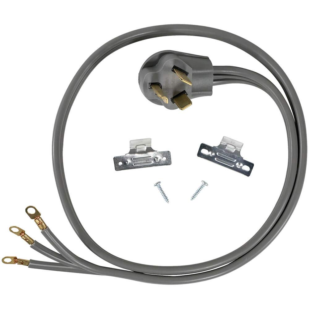 Ge Dryer 3 Wire Power Cord Home Improvement Plug In Addition 220 Wiring Diagram Further Electric