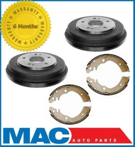 Mac Auto Parts 36691 Honda CRV (2) Rear Brake Drums and Brake Shoes