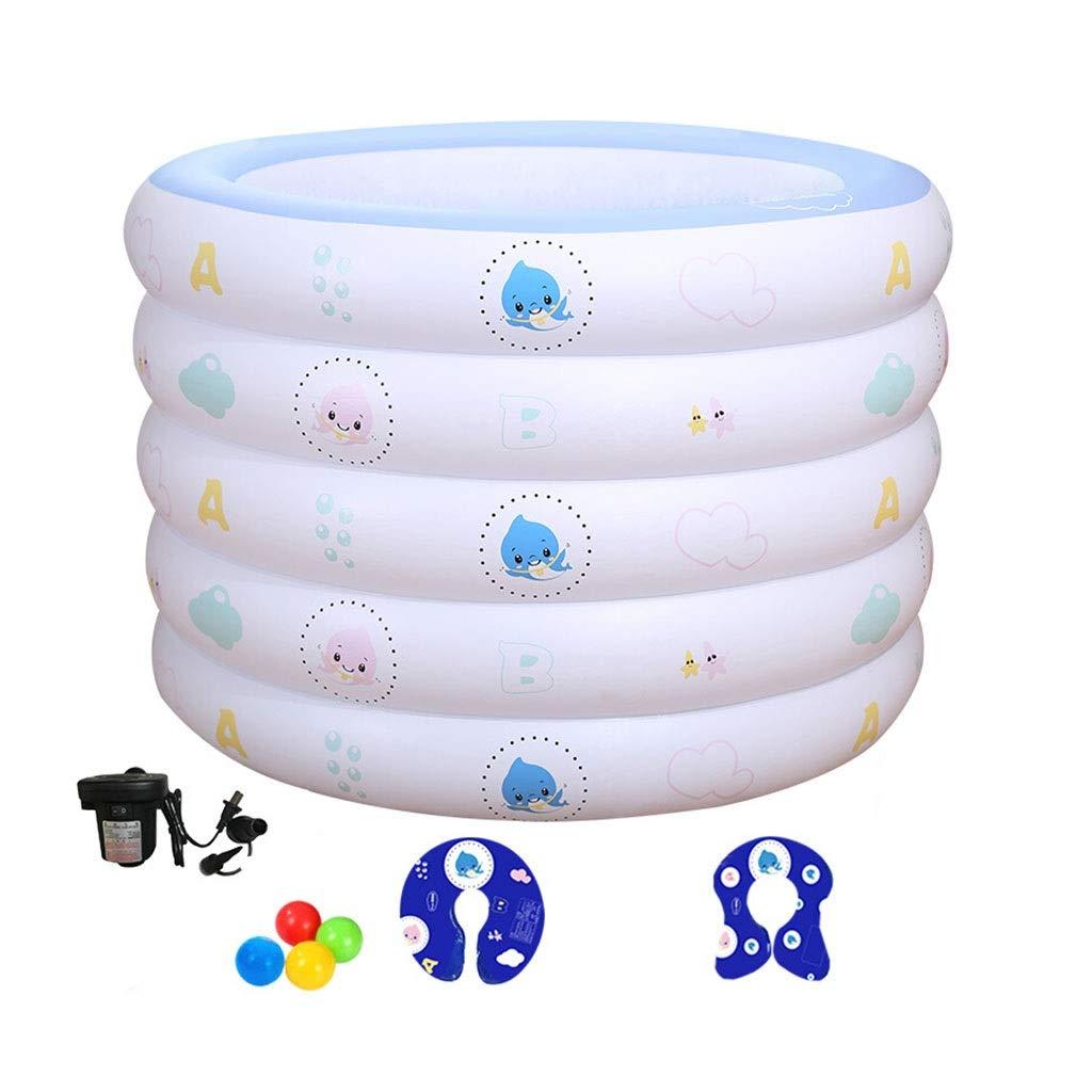 LYM & bañera Plegable Piscina para bebés Aislamiento del hogar ...