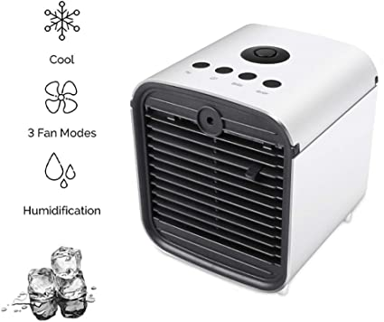 HHH Mini Air Cooler Humidificador Purificador y Ventilador de Aire ...
