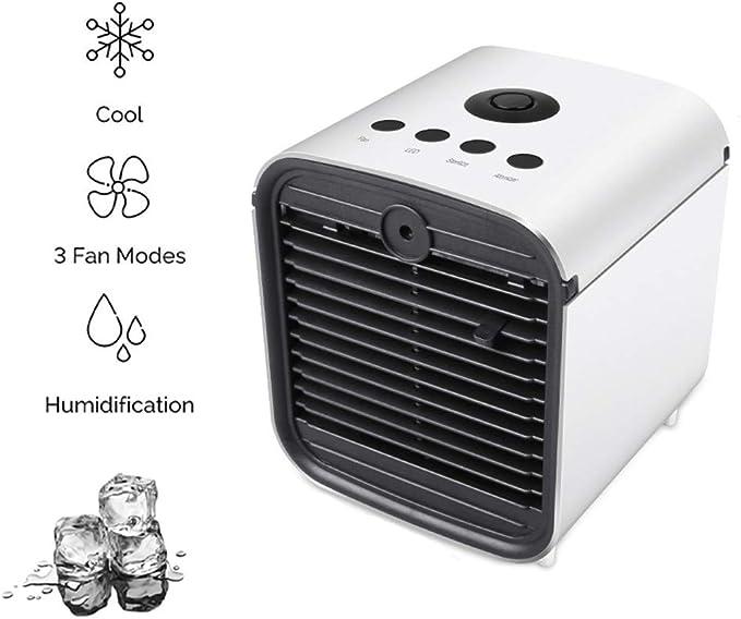 HHH Mini Air Cooler Humidificador Purificador y Ventilador de Aire ...