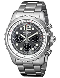 Breitling Men's A2336035/F555SS Chronospace Gray Grey Dial Watch