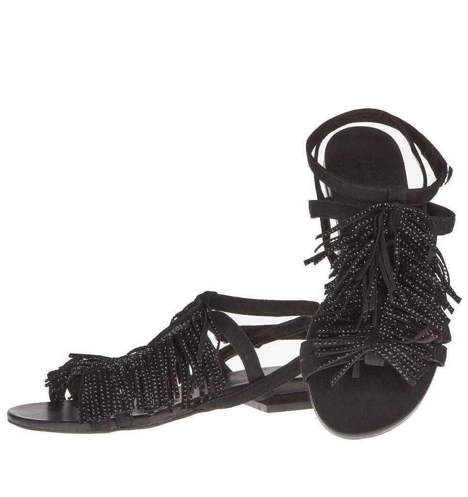 La Damenschuhe Damenschuhe La Plus Fringes Sandales - ac819f