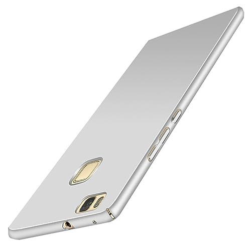 Wouier® Funda Huawei P9 Lite Perfecto Delgado Suave sedoso plástico PC de Anti-Scratch teléfono para...