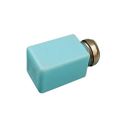 bestomz botella de esmalte de uñas dispensador vacío para almacenamiento líquido Alcohol Manicura Maquillaje 200 ml