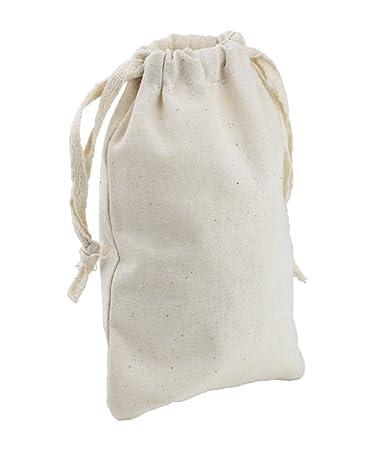 Amazon.com: ToteBagFactory - Bolsas de muselina con cordón ...