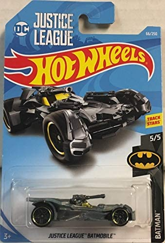Justice League Blue Batmóvil//Batmobile-Batman-Hot Wheels dc Batman Card