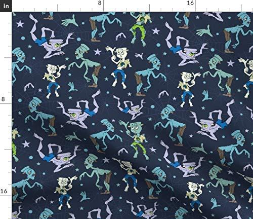 Frankenstein Fabric - Spooky Halloween Zombie Scary Boy