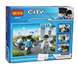 Tickles Cogo City Police Blocks Bricks Models 81 Pcs(Blue)