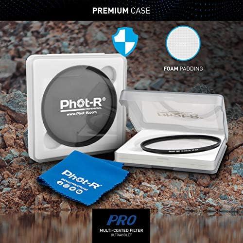 Phot R Mc12 Cpl Uv Filters Microfibre Cloth Camera Photo