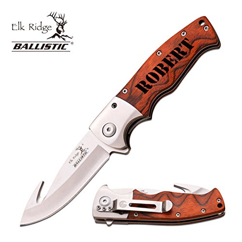 (Elk Ridge Personalized Free Engraving - Quality Pocket Knife ... (ER-A011))