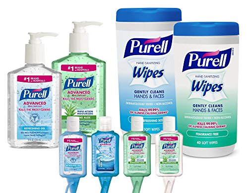 PURELL 9120K1ECEA Sanitizer Assorted Pieces