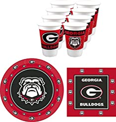 Westrick Georgia Bulldogs Party Supplies...