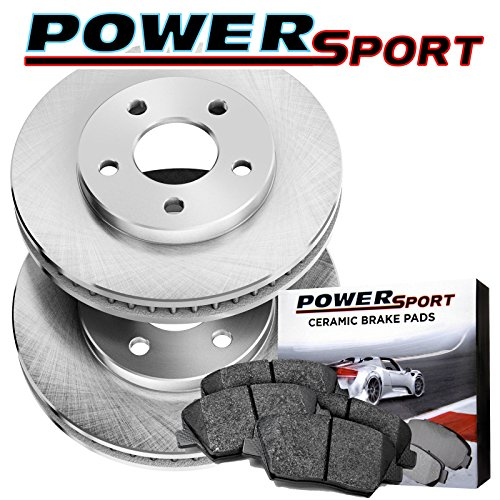 Front Replacement Brake Rotors and Ceramic Brake Pad For 1984-1995 Toyota Pickup