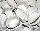 Case of 25,000 White #4 Paper Candy Cups