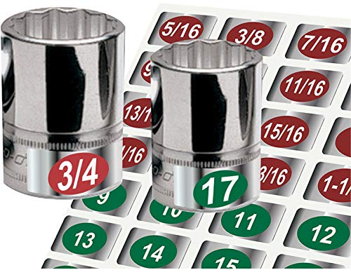 - MRT SUPPLY Eye Saver 3 Pack Chrome Socket Tags for Hand Tools, SKT Rails & Wrenches Green with Ebook