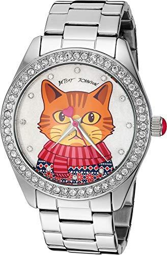 Cute Cat Motif Dial Watch
