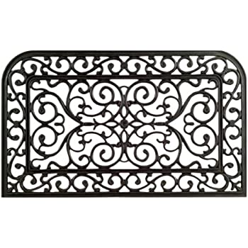 Amazon Com Imports Decor Rubber Doormat Monarch 18