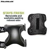 Rollerblade X-Gear Adult Wristguard Protective Gear, Inline Skating, Unisex, Black