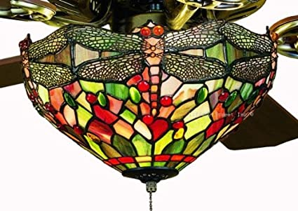 Tiffany street 25024 amber dragonfly stained glass ceiling fan kit tiffany street 25024 amber dragonfly stained glass ceiling fan kit aloadofball Image collections