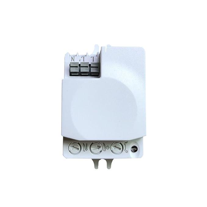 Smart Sensor de movimiento 5,8 g microondas sensor de movimiento ...