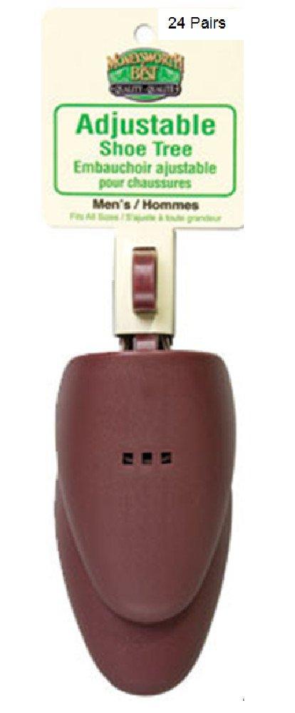 Plastic Shoe Tree M & B Men's adjustable (24 Pairs)