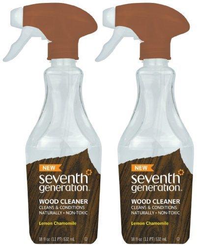 Seventh Generation Wood Cleaner - Lemon Chamomile - 18 oz - 2 pk