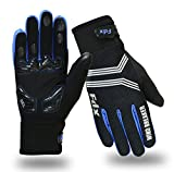 FDX Cycling Gloves Windproof Gel Padded...