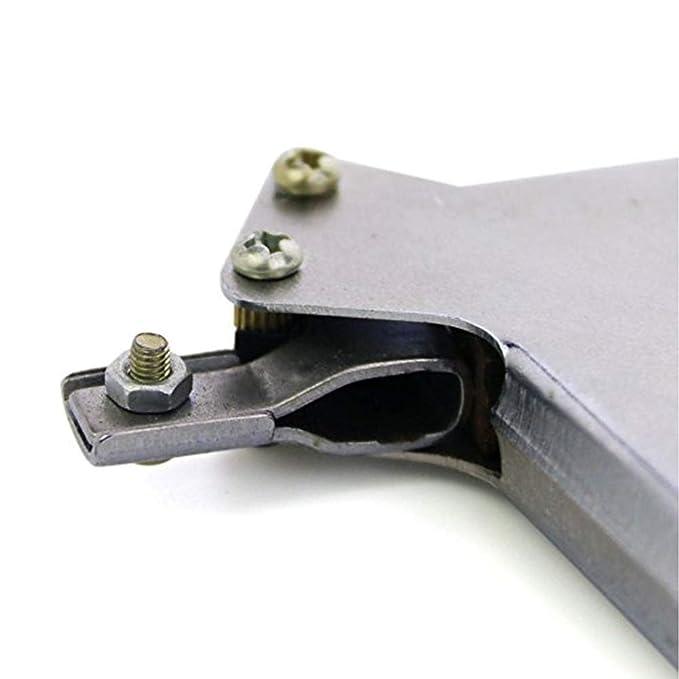 Semine Starke Lock Pick Easy Lock Reparaturwerkzeug-Kit T/ürschloss/öffner Bump Key Tools