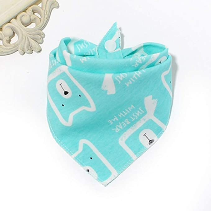 x10 Baby Bibs White with Coloured Trim Waterproof Weaning Baby Boy Girl *NEW*