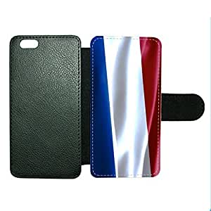 Case Fun Case Fun Flag of France Faux Leather Wallet Case Cover for Apple iPhone 6 4.7 inch