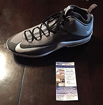 Trevor Story Autographed Signed White Nike Air Max Baseball
