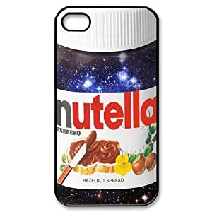2013 New Style Funny Nutella Bottle White Cover Hard Plastic iPhone 5s Case