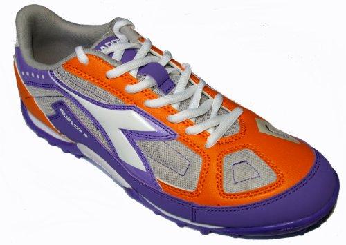 Diadora , Chaussures pour homme spécial foot en salle Orange ORANGE-VIOLET