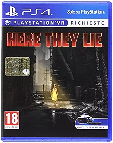 Sony PS4 VR HERE THEY LIE Básico PlayStation 4 vídeo - Juego ...