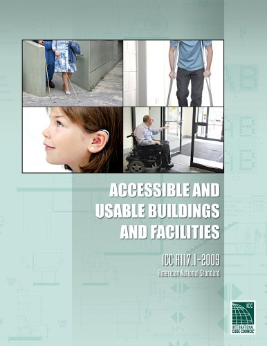 ICC A117.1 2009 Accessible and Usable Buildings and Facilities (International Code Council Series) from Brand: ICC (distributed by Cengage Learning)