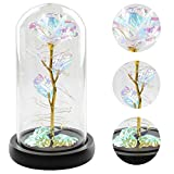 Colorful Artificial Flower Rose Gift, Led Light