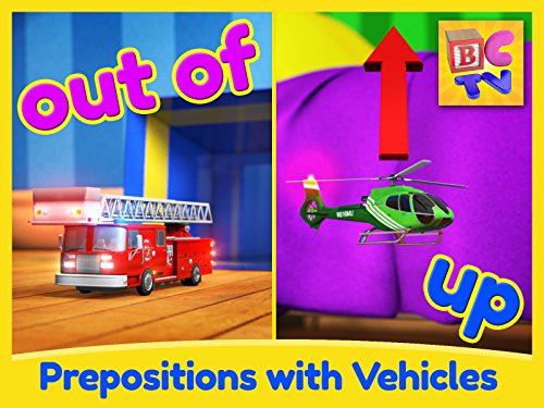 Find the Vehicles - Learning English Prepositions for Kids ()