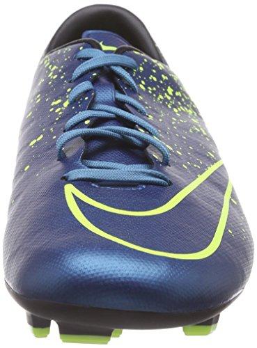 Nike Mercurial Victory V FG, Scarpe da Calcio da Uomo (Racer Blue/Obsidian)