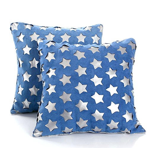 Cushion Covers 18x18, Decorative Throw Pillow Cases, Set of