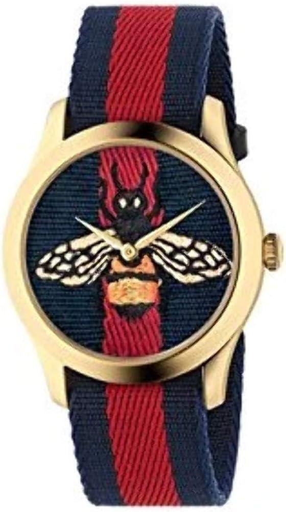 Reloj Gucci YA1264061 Rojo Acero 316 L Mujer