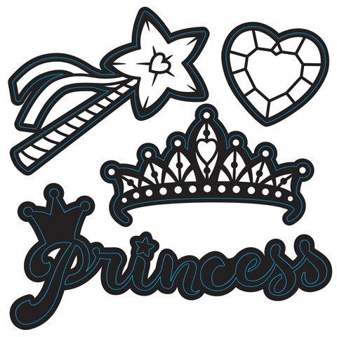 Crown Die Cuts - 8