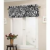Cheap Ellery Homestyles Top It Off Valance – Zebra