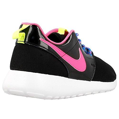 Nike Barna Roshe En Se (gs) Løpesko Svart-rosa