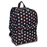 Everest Polka Dot Design Mid Size Backpack