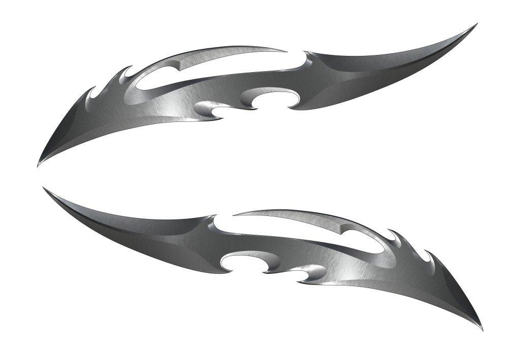 Blade Kawasaki Ninja ZX 14R 12R 10R 7R 6R 650R 600 250R Suzuki GSXR 1000 750 600 Hayabusa Yamaha YZF R1 R6 FZ1 FZ6 FZ8 Honda CBR 1000RR 600RR 600 F4I Motorcycle Sticker Decal by Immortal Graphix (Image #1)
