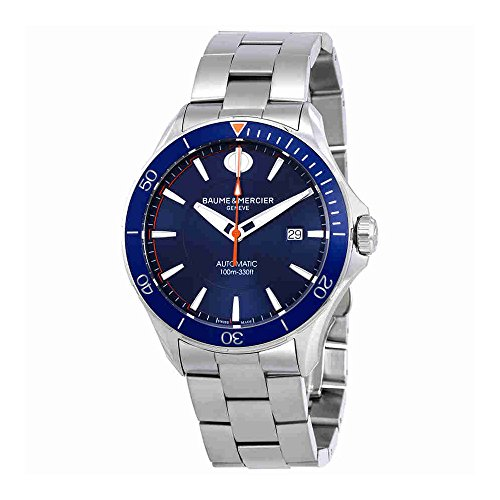 Baume-et-Mercier-Clifton-Blue-Dial-Automatic-Mens-Watch-MOA10378
