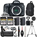 Canon EOS 7D Mark II Digital SLR Camera Body Full HD 1080p + Battery Grip + Backup Battery + 2 Of 32GB Memory Card. All Original Accessories Included – International Version