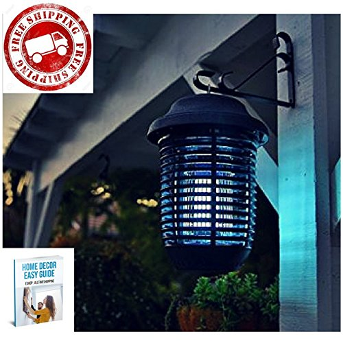 Electronic Insect Killer Outdoor Indoor Bug Zapper Pest Control Led Buld Waterproof & eBook by AllTim3Shopping by ATS