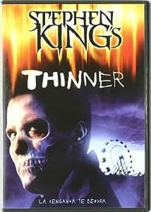 Thinner (edición especial coleccionista) [DVD]